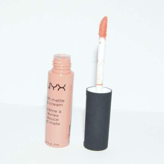 Applikator der NYX Soft Matte Lip Cream, Farbe: Athens