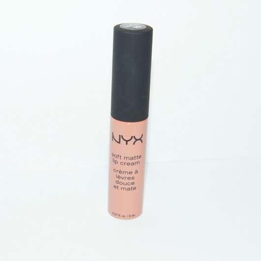 NYX Soft Matte Lip Cream, Farbe: Athens - Flacon