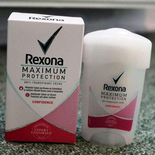 "Rexona Maximum Protection Anti-Transpirant Creme ""Confidence"""