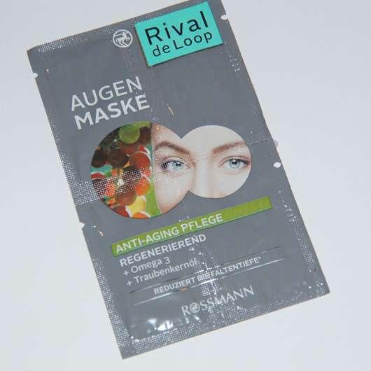 Rival de Loop Augen Maske Anti-Aging Pflege
