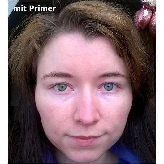 Gesicht mit Smashbox Photo Finish Foundation Primer