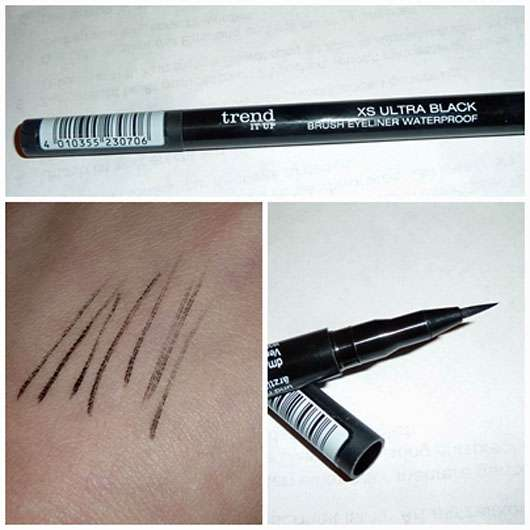 trend IT UP XS Ultra Black Brush Eyeliner Waterproof