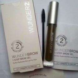 Produktbild zu WUNDER2 WUNDERBROW Semi Permanent Eyebrows-Gel – Farbe: Black/Brown