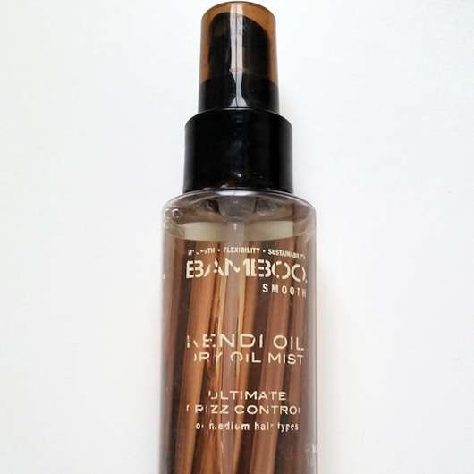 Alterna Bamboo Smooth Kendi Oil Dry Oil Mist Flasche