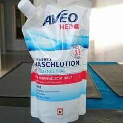 Produktbild zu AVEO MED Seifenfreie Waschlotion (für empfindliche Haut)