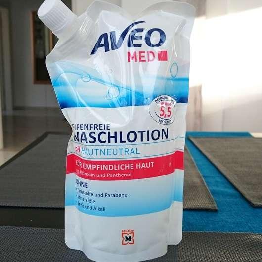 AVEO MED Seifenfreie Waschlotion (Nachfüllpack) Design