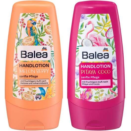 Balea Handlotion Melon Berry und Balea Handlotion Pitaya Coco