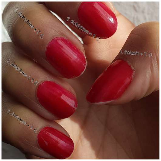 CND VINYLUX Weekly Polish, Farbe: 158 Wildfire mit Top Coat
