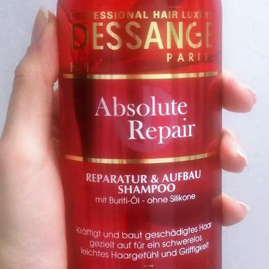 Dessange Paris Absolute Repair Reparatur & Aufbau Shampoo