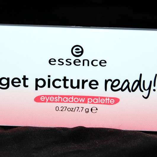 essence get picture ready! eyeshadow palette