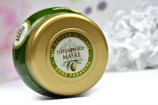Garnier Wahre Schätze Der wohltuende Vitalisierer Tiefenpflege-Maske Mythische Olive - Tiegel