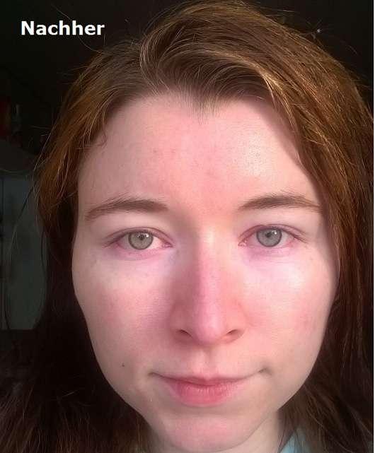 GLOV On-The-Go Gesichts-Reinigungs-Handschuh Gesicht nach der Reinigung