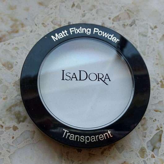IsaDora Matt Fixing Powder, Farbe: Transparent