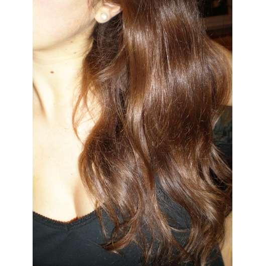 Haare mit LOGONA Glanz Shampoo Bio-Arganöl gewaschen