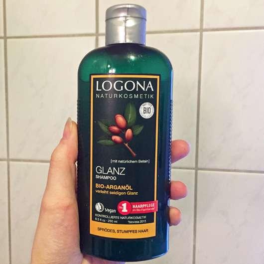 LOGONA Glanz Shampoo Bio-Arganöl
