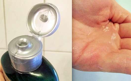 LOGONA Glanz Shampoo Bio-Arganöl Deckel und Produkt