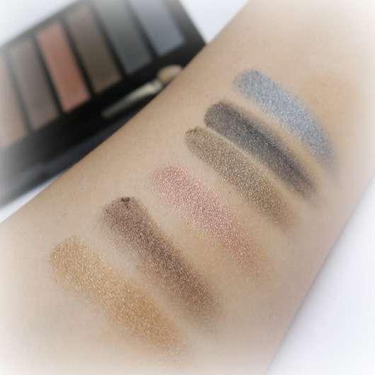 Makeup Revolution Redemption Palette Ionic 1 Swatches mit Base