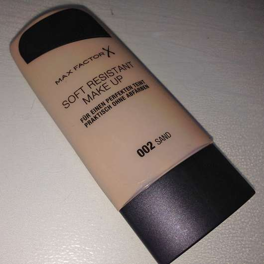 <strong>Max Factor</strong> Soft Resistant Make up - Farbe: 002 Sand