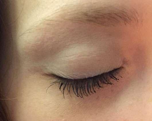 Maybelline Eyestudio Lasting Drama Gel Eyeliner 24H, Farbe: 01 Black nachher