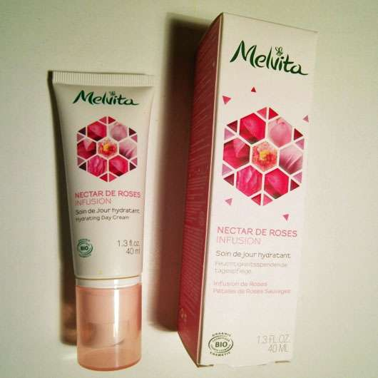 Melvita Nectar De Roses Infusion feuchtigkeitsspendende Tagespflege