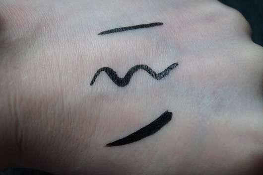 Rival de Loop Liquid Eyeliner Pen, Farbe: Black Swatch