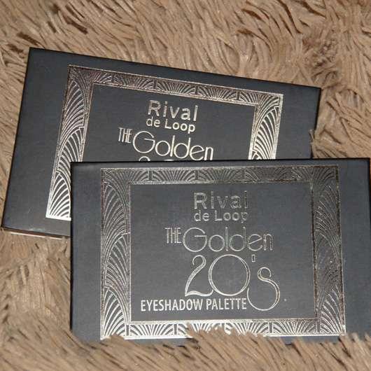 Rival de Loop The Golden 20's Eyeshadow Palette (LE) Design