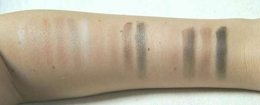 Rival de Loop The Golden 20's Eyeshadow Palette (LE) Swatches