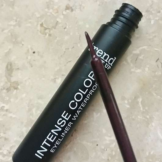 trend IT UP Intense Color Eyeliner Waterproof, Farbe: 040 - Pinselspitze