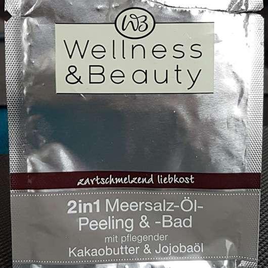 "<strong>Wellness & Beauty</strong> 2in1 Meersalz-Öl-Peeling und -Bad ""zartschmelzend liebkost"" (LE)"