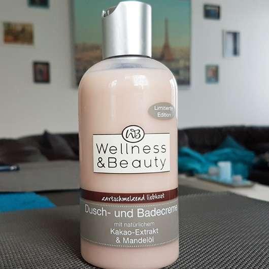"""<strong>Wellness & Beauty</strong> Dusch- und Badecreme """"zartschmelzend liebkost"""" (LE)"""
