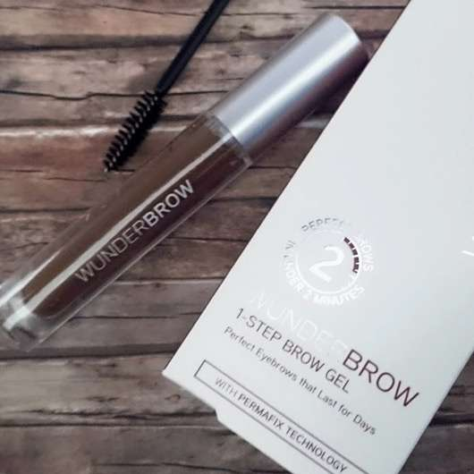 WUNDER2 WUNDERBROW Semi Permanent Eyebrows-Gel, Farbe: Auburn