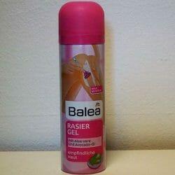 Produktbild zu Balea Rasiergel mit Aloe Vera (für empfindliche Haut)