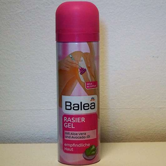 Balea Rasiergel mit Aloe Vera (für empfindliche Haut)