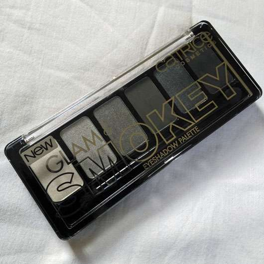 Catrice Glam & Smokey Eyeshadow Palette, Farbe: 010 Never Grey Up