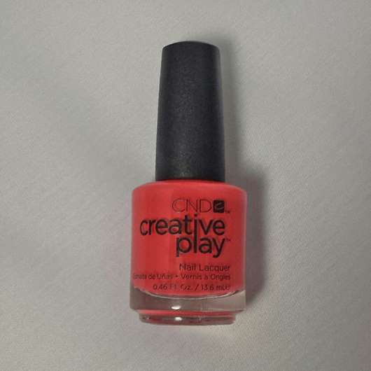 <strong>CND CREATIVE PLAY</strong> Nail Lacquer - Farbe: Coral Me Later