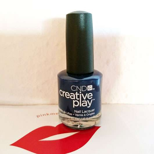 <strong>CND CREATIVE PLAY</strong> Nail Lacquer – Farbe: Navy Brat