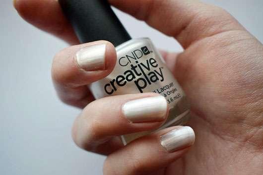CND CREATIVE PLAY Nail Lacquer, Farbe: Su-Pearl-Ative
