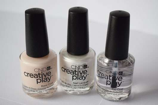 CND CREATIVE PLAY Top Coat und andere Lacke