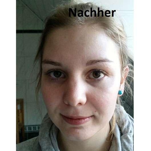 Douglas Aquafokus Facial Water - Hautbild im Gesicht nach der Anwendung