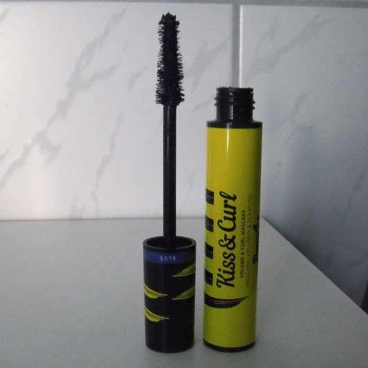 Douglas Make-up Kiss & Curl Volume & Curl Mascara, Farbe: 04 Blue - geöffnetes Produkt
