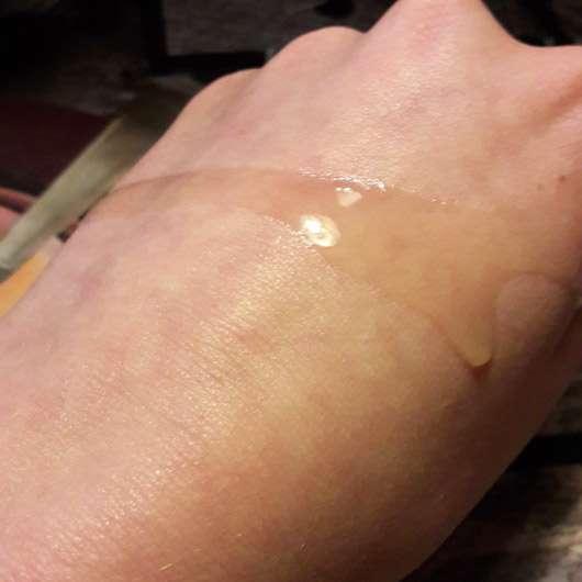 Dr. Hauschka Schlehenblüten Pflegeöl - Konsistenz