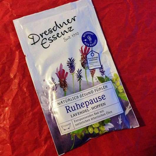 <strong>Dresdner Essenz</strong> Gesundheitsbad Ruhepause Lavendel Hopfen