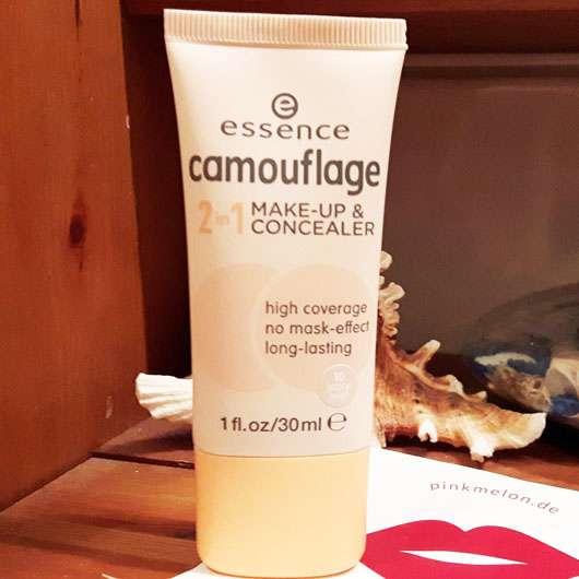 essence camouflage 2in1 make-up & concealer, Farbe: 010 ivory beige Design