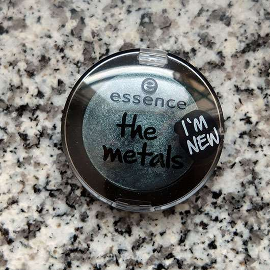 essence the metals eyeshadow, Farbe: 04 deep sea shimmer