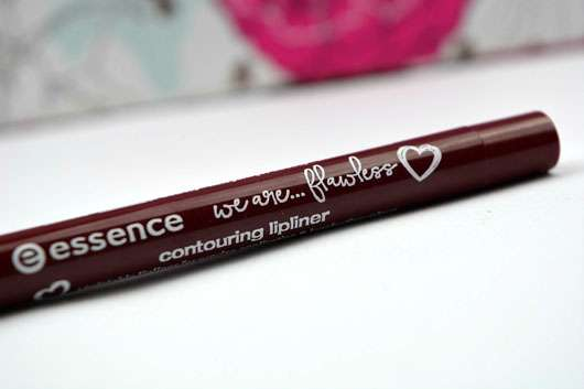 essence we are... flawless contouring lipliner, Farbe: 03 P.S. we love berry (LE) Design