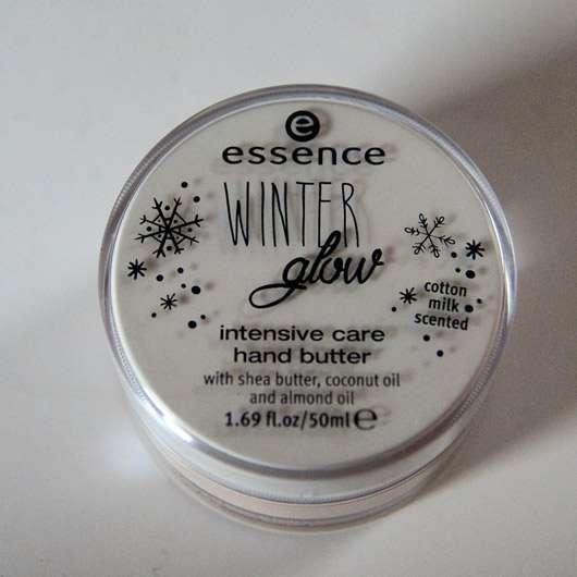essence winter glow intensive care hand butter (LE)