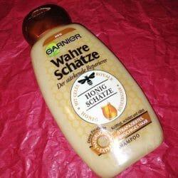 Produktbild zu Garnier Wahre Schätze Der stärkende Reparierer Shampoo Honig-Geheimnisse