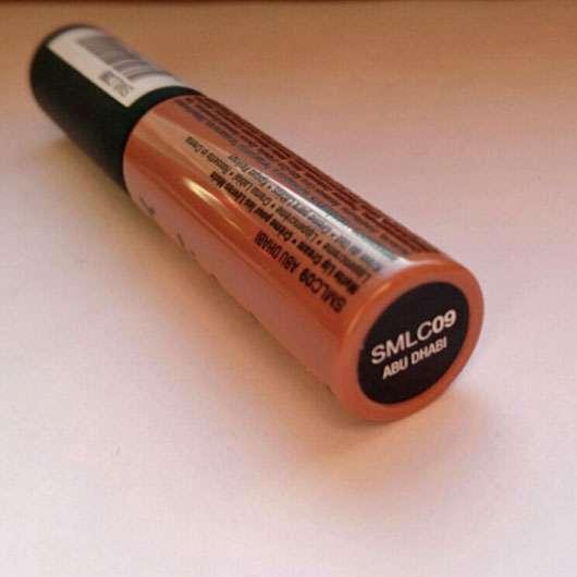 NYX Soft Matte Lip Cream, Farbe: Abu Dhabi - Farbbezeichnung