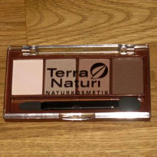 Terra Naturi Naturkosmetik Quattro Eyeshadow, Farbe: 05 Chocolate Variety