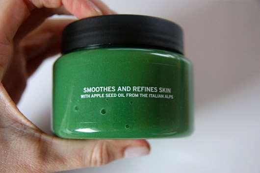 The Body Shop Spiced Apple Exfoliating Sugar Body Scrub (LE) - Beschriftung seitlich